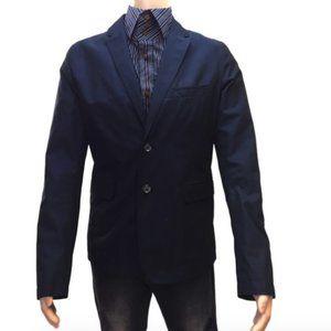 Burberry Blue L Check Pattern Jacket Men 20)